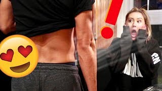 SHE THOUGHT IT WAS FAKE! *My Workout Results*