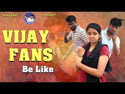Vijay Fans Be like | Birthday Special | Funny Factory
