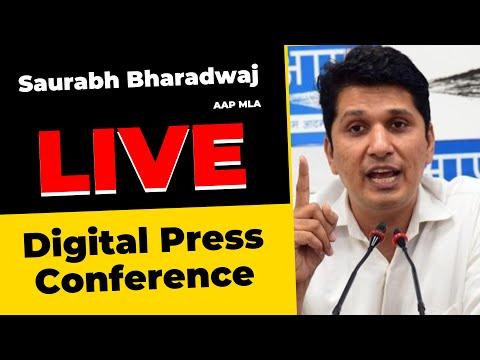 🔴 LIVE | AAP MLA Shri Saurabh Bharadwaj on MCD's deplorable ranking in Swacchta Sarvekshan Survey