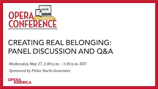 Creating Real Belonging: Panel Discussion