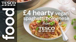 £4 hearty vegan spaghetti bolognese
