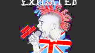 The Exploited   Don't Blame Me /JODA PUNK