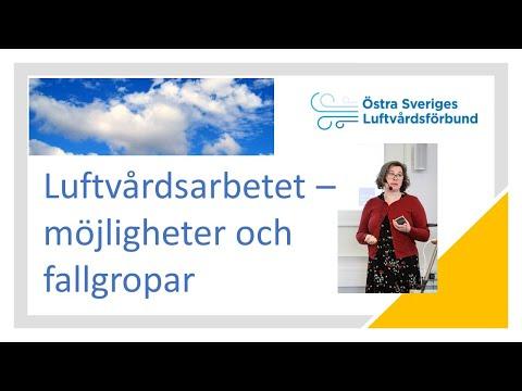 Luftvårdsarbetet – möjligheter och fallgropar - presentation vid Regionala Luftvårdsdagen 2020 video thumbnail.