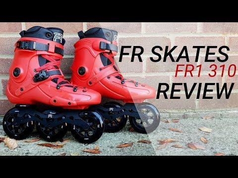 FR Skates FR1 310 REVIEW – 3 x 110mm TRISKATES – inline skates/rollerblades/patins/rolki