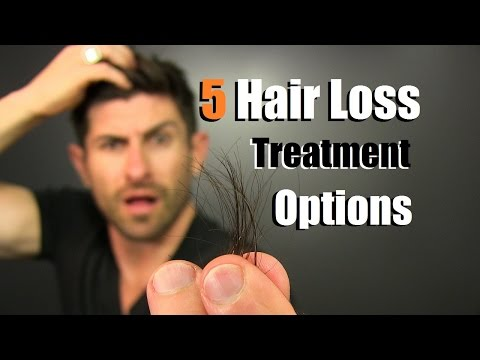 TOP 5 Hair Loss Treatment Options On The Market | Hair Loss Tips