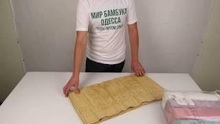 Бамбуковые полотенца Sikel, 70 х 140 см., 6 шт./уп. M10124 от компании МИР БАМБУКА ОПТ. Полотенце, халат, простынь оптом, Одесса, 7 км. - видео