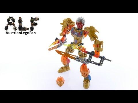 Vidéo LEGO Bionicle 71308 : Tahu - Unificateur du Feu