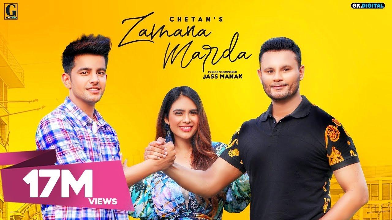 Zamana Marda|  Chetan Jass Manak Lyrics