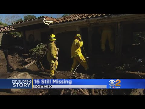 Search Intensifes For Missing In Montecito Mudslides