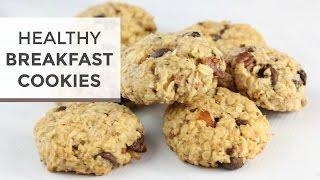 BREAKFAST COOKIES | Healthy Almond Joy Breakfast Cookie Recipe