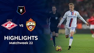 Highlights Spartak Vs CSKA (0-2)