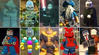 The Most Expensive Characters in LEGO Videogames