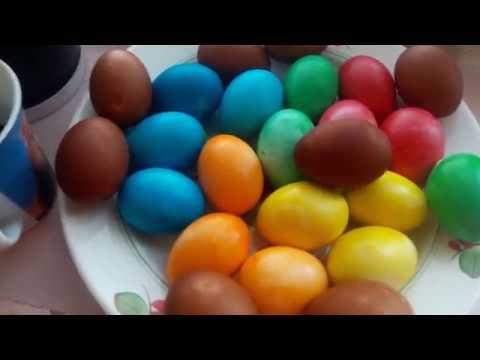 Яйца готовы. Сходили в церковь. И отправились на шашлыки. С праздником. Пусть хранит вас Господь.