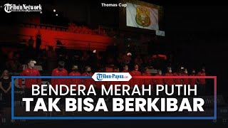 Kemenangan Indonesia di Piala Thomas 2021 Tanpa Dikibarkannya Bendera Merah Putih, Begini Alasannya