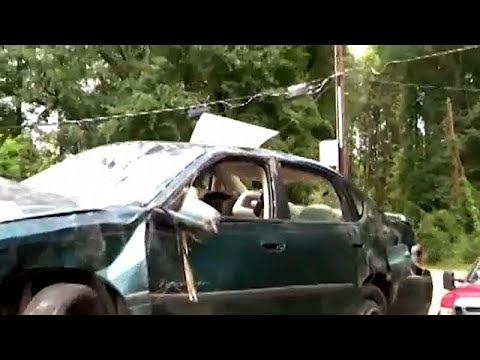 ΗΠΑ: Σαν από θαύμα δύο μικρά παιδιά επέζησαν τροχαίου