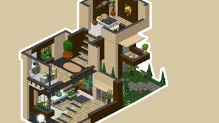 Apartamento habbo 123vid for Casa moderna habbo