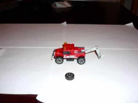 Vidéo LEGO Racers 8195 : La Dépanneuse Turbo