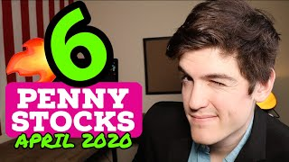 6 Top Penny Stocks To Buy🚀| April 2020