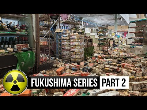 Fukushima abandoned: A Supermarket (fully intact)