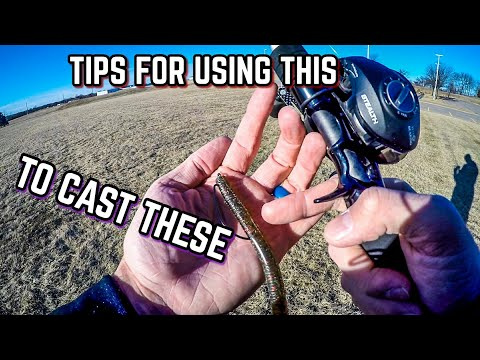 Cast Light Lures with a BAITCASTER! (Tips & Casting Demonstration 2018)