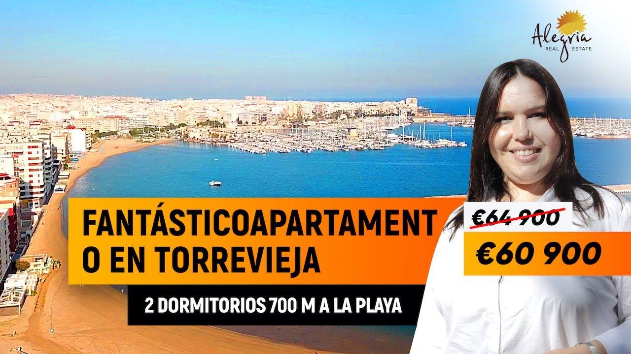 Apartamento en Torrevieja / €64 900 / 2 dormitorios / Alegria Inmobiliaria Alegria