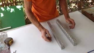 Изготовление оснастки из алюминия для литья свинца