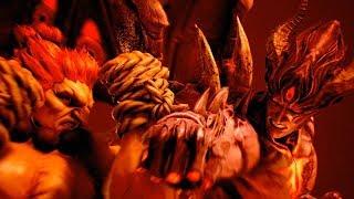 デビル一八VS真豪鬼   鉄拳7(Tekken 7: Kazuya vs Akuma)