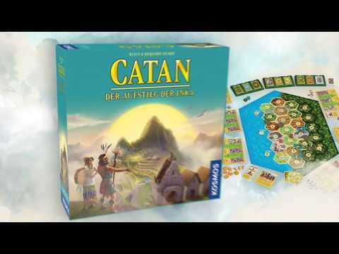 Spieletrailer Catan - Der Aufstieg der Inka - Vorschaubild