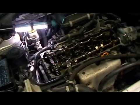 Фото к видео: NISSAN WINGROAD меняем цепь грм и сальники клапанов