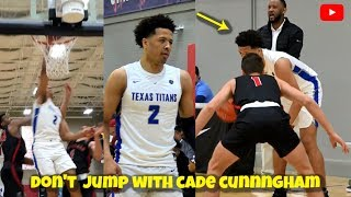 DON'T JUMP With Cade Cunningham!! The #1 PG in High School - EYBL Highlights