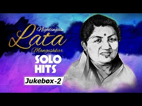 Nightingale Lata Mangeshkar Solo Hits - Vol 2 | Evergreen Hindi Songs {HD} | Top 30 Lata Songs