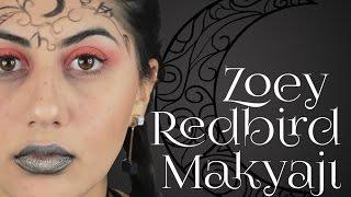 Gece Evi Serisi Zoey Redbird Makyajı | Kitaptan Ekrana
