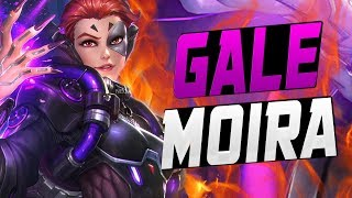 GALE DOMINATING COMPETITIVE PLAY AS MOIRA! [ OVERWATCH SEASON 7 TOP 500 ]