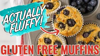 Gluten Free Muffins - NO SUGAR! Super Moist And Delicious!