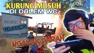KURUNG MUSUH DI DALEM WC NGAKAK PARAH !!! - PUBG MOBILE INDONESIA