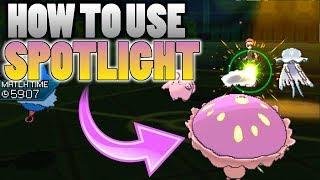 Shiinotic  - (Pokémon) - How To Use Shiinotic's Spotlight In Pokemon Ultra Sun and Moon