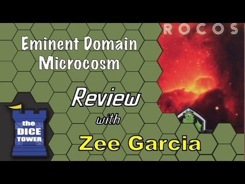 The Dice Tower reviews Eminent Domain: Microcosm