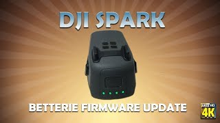 DJI Spark Intelligent Flight Battery | Firmware Herunterladen zum 1.Sep.2017 [Ger/Eng/Fra.sub]