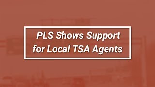 PLS Shows Support for Local TSA Agents