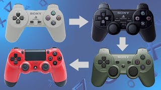 Evolution of Sony Playstation Controllers