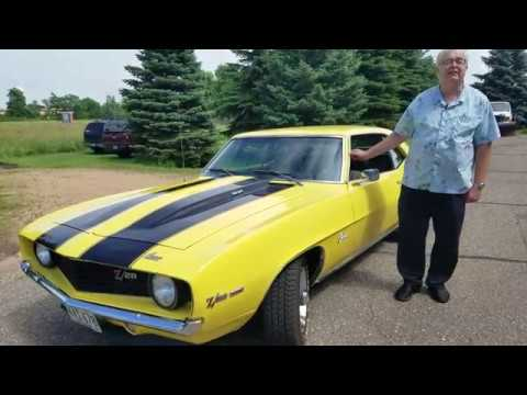 Video of Classic 1969 Camaro Z28 located in Minnesota - $49,995.00 Offered by Ellingson Motorcars - QYV7
