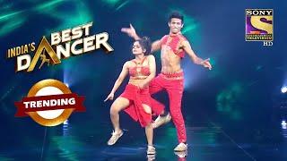 "Sonal और Tushar का ""Leke Pahla Pahla Pyar"" पर यह Act है काफ़ी चटपटा | India's Best Dancer | Trending"