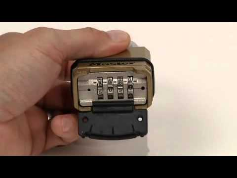 M175 Set-Your-Own Combination Lock: Operating Instructions