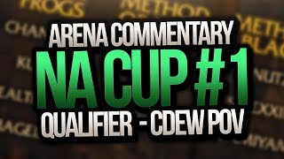 Arena Commentary Method: Orange NA Cup #1 Qualifier  - Cdew - World of Warcraft Arena Tournament PVP