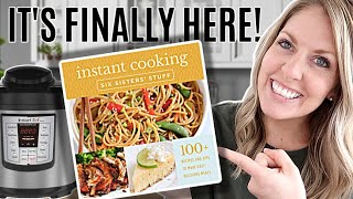 Our NEW Instant Pot Cookbook!