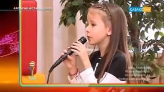 Данелия Тулешова - ученица Школы Лины Арифулиной