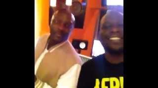 Akon Ft. D'banj - Frosh (Studio Session)