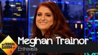 """Meghan Trainor: """"Cuando besé a Charlie Puth mi novio estaba entre bastidores"""" - El Hormiguero 3.0"""