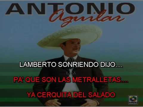 Lamberto Quintero Antonio Aguilar