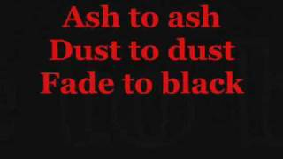 Metallica - The memory remains Lyrics Video